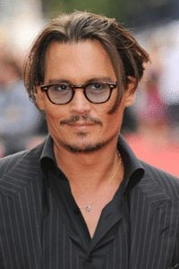 Johnny Depp at the Public Enemy Premiere