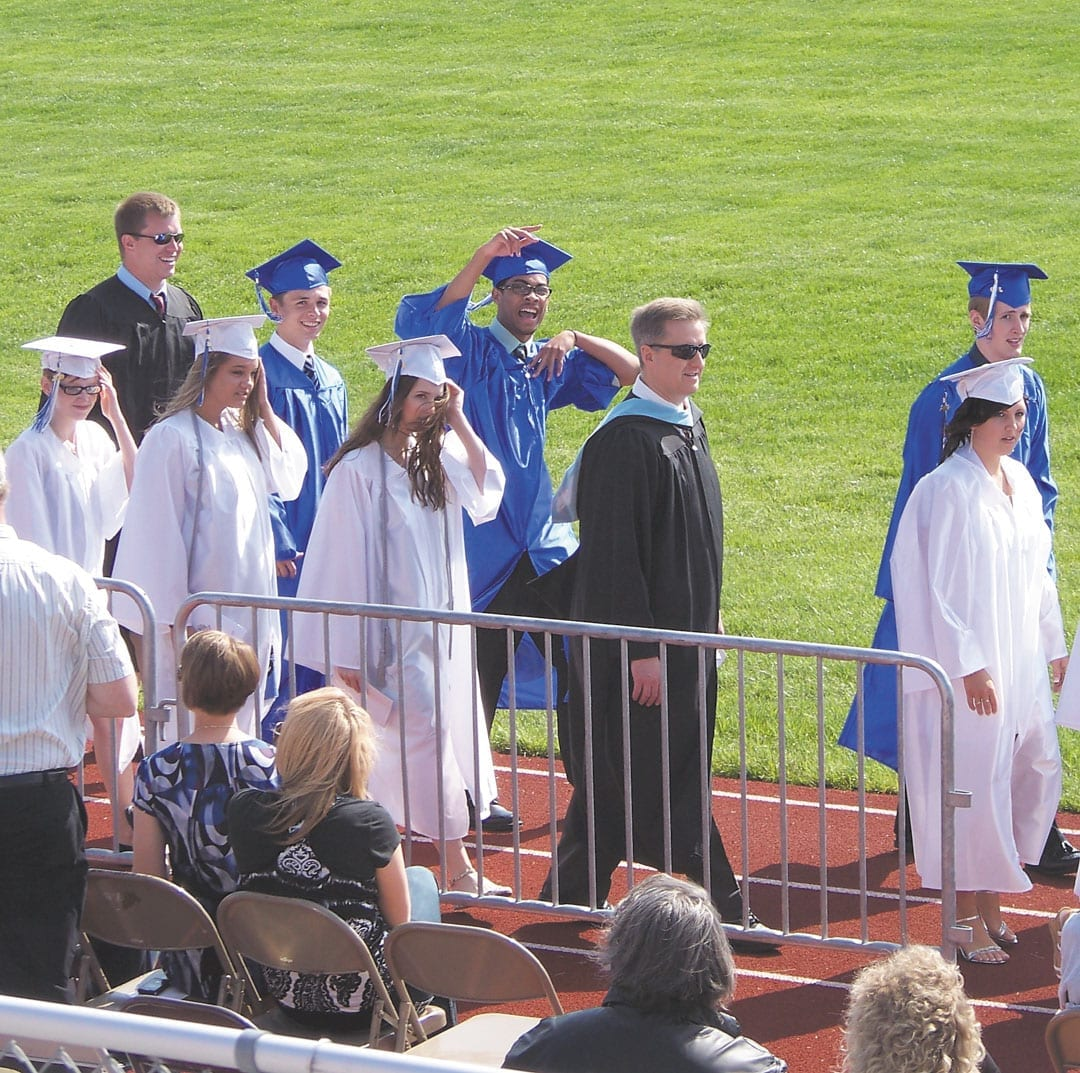 Class of 2010 graduates from GE High