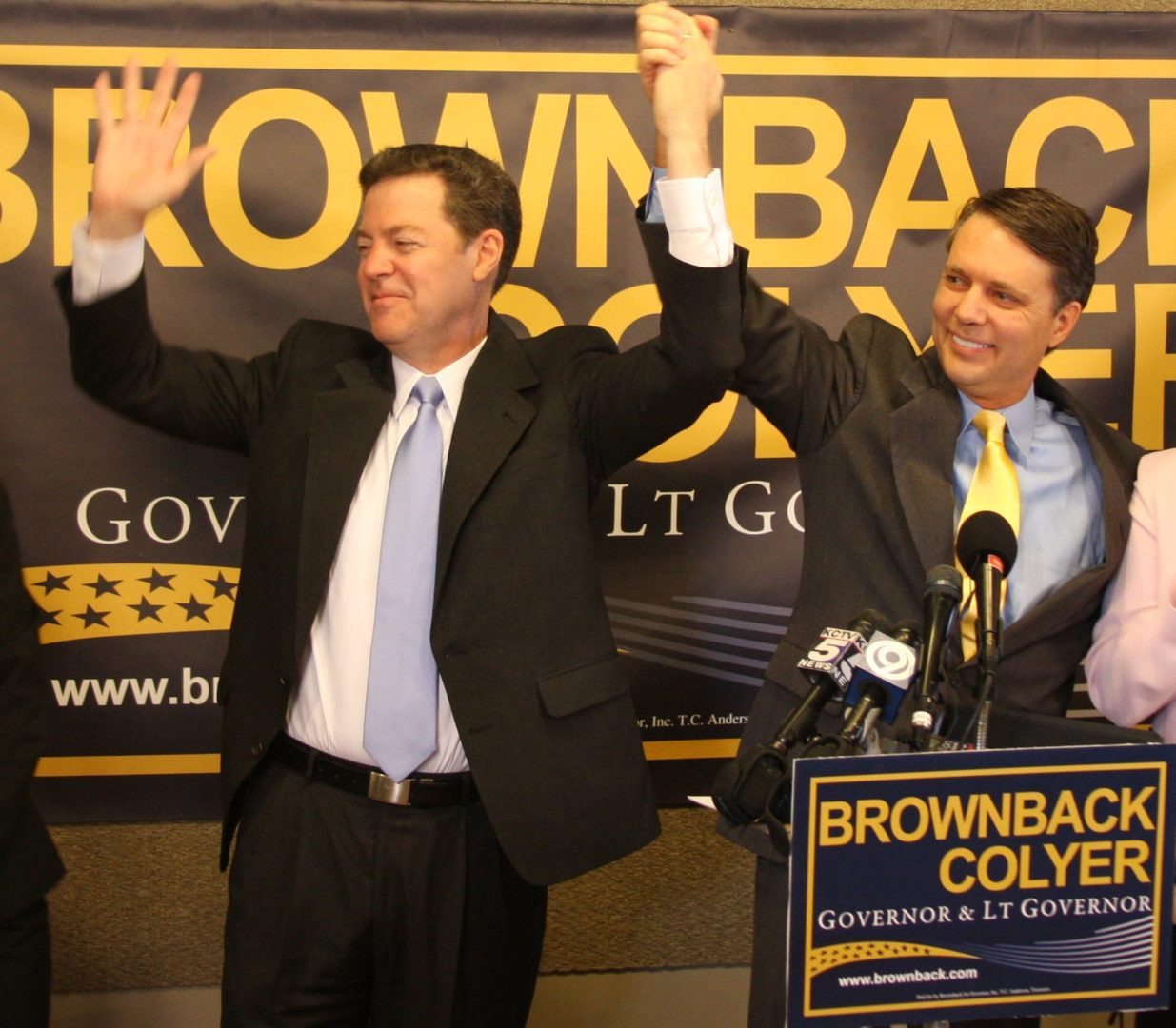 Brownback selects Colyer for running mate in governor's bid