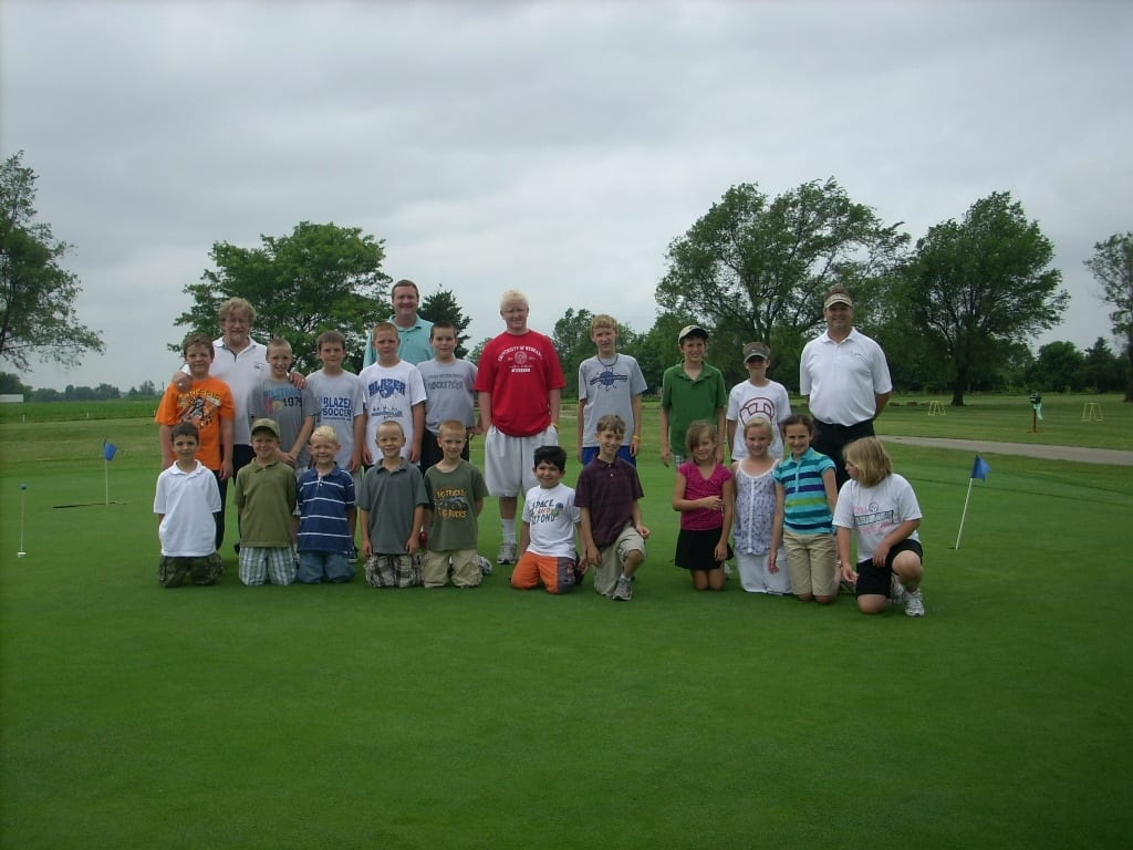 20th annual golf clinic attracts area kids gardner news for Gardner golf course