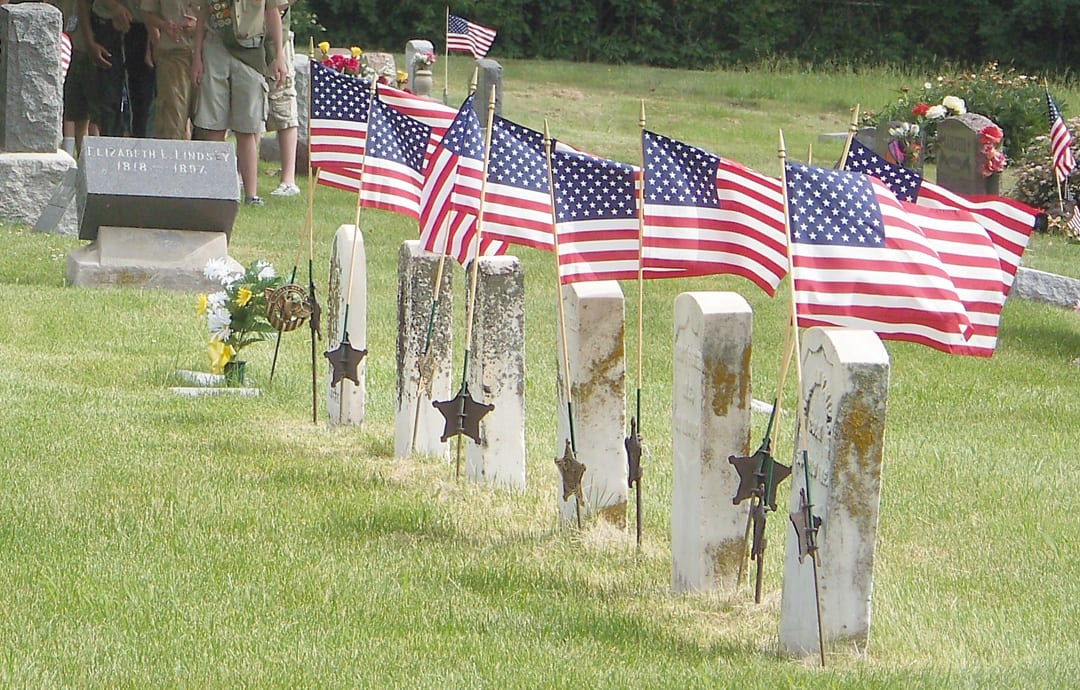 SH Memorial Day ceremony draws crowd