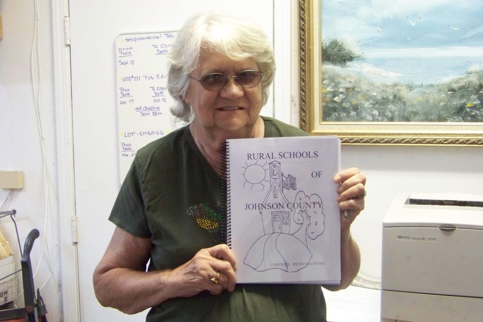 Area woman finishes work on new book about rural schools