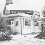 The former Ranch Inn restaurant is pictured during its heyday in the 1950s. Today, the building is The Liquor Barn on Main Street. Submitted photo