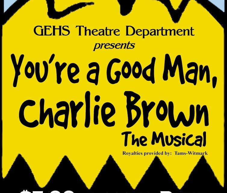 """Curtain to rise on GEHS' """"Charlie Brown"""""""