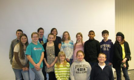 SHMS students present project to historical society