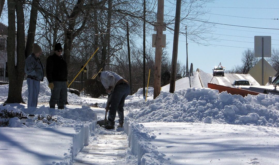 Residents who don't remove snow, ice from sidewalks may be fined