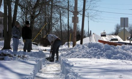 Property owners responsible for clearing sidewalks on property