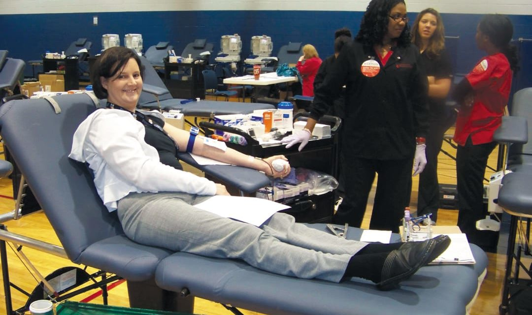 Happening Now: Community Blood Drive
