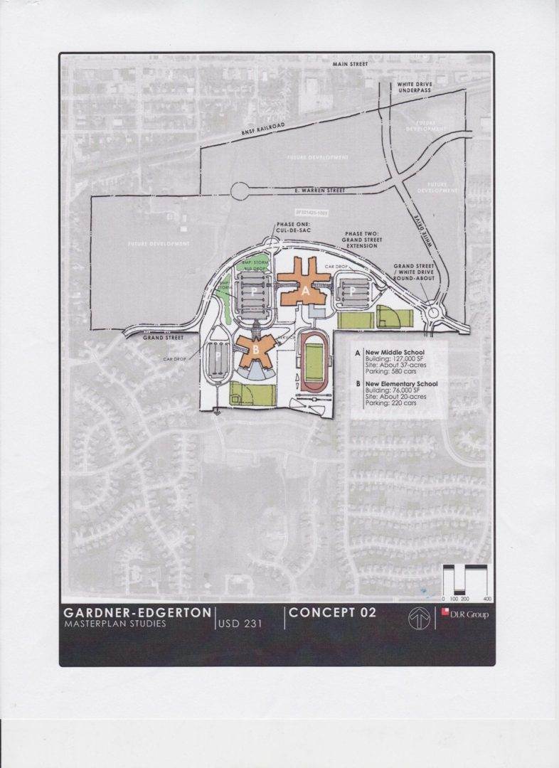 USD 231 unveils plans for new school buildings