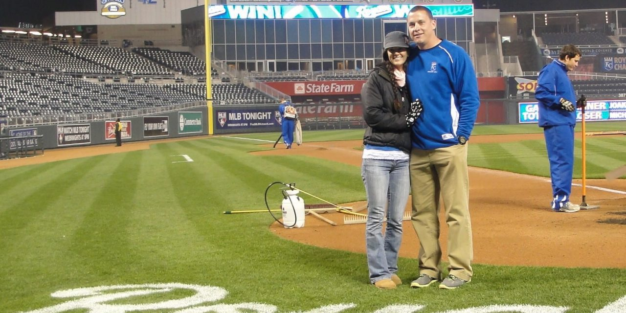 Groundskeeper experience allows GEHS grad to fulfill a dream