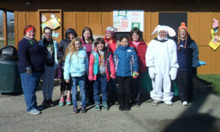 Girl Scouts host Easter egg hunt