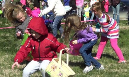 American Legion Auxiliary Easter Egg Hunt