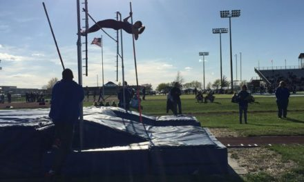 Lady Blazers track team race to second place at Olathe Invitational
