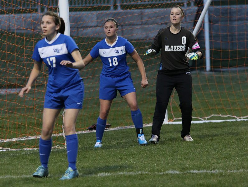 Lady Blazers fall to Blue Valley North