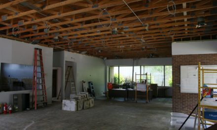 Gardner Senior center remodel underway