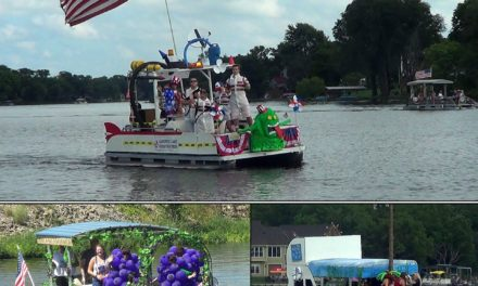 13th Annual Gardner Lake 4th of July Boat Parade