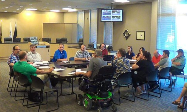 Topic of joint meeting: city sidewalk conditions