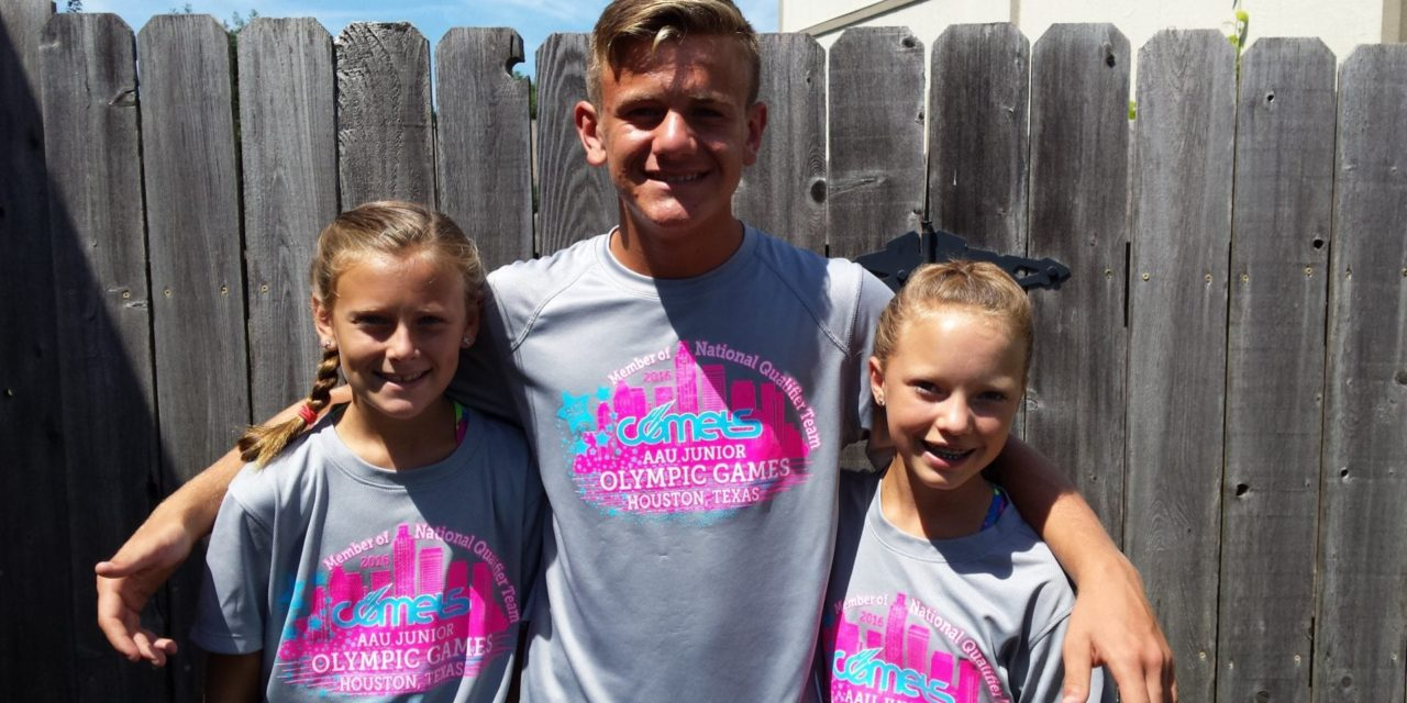 Gardner tracksters qualify for Junior Olympics in Houston