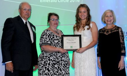 Kansas 4-H awards Gunkel youth scholarship