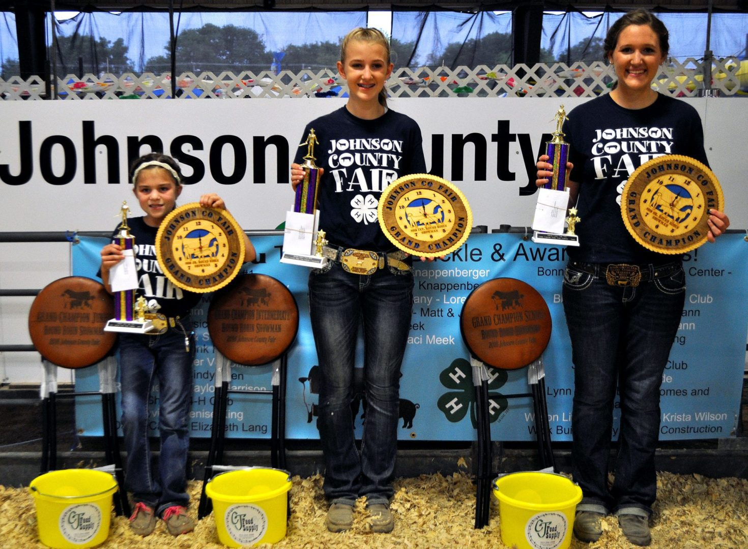 4-H youth win Jo Co Fair Round Robin comp
