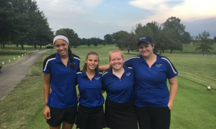 Washington, Wojtas lead Blazer golf charge