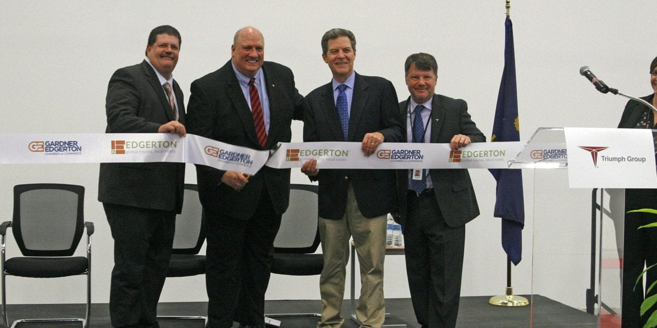 Triumph holds ribbon cutting to celebrate factory opening in Edgerton