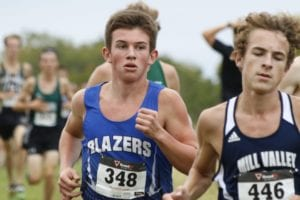 Trent Cochran raced to a third place finish at the Cat Classic last week. His points helped GEHS to fifth place in the team standings. Submitted photo