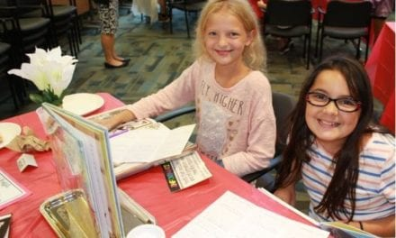 Trail Ridge students participated in book tasting