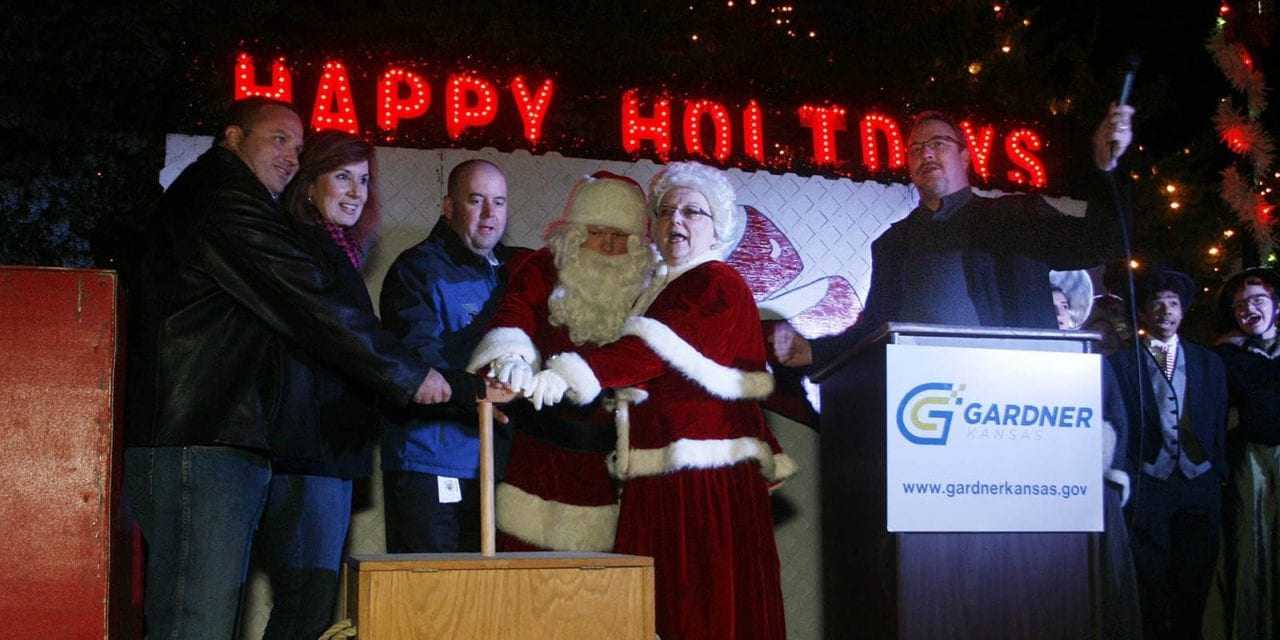 Gardner hosted its virtual tree lighting