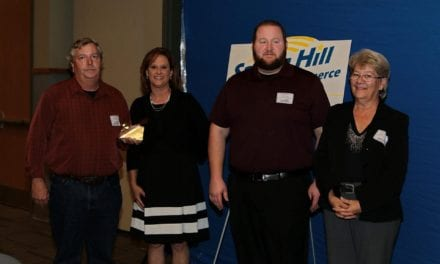 Spring Hill Chamber of Commerce recently held their annual dinner