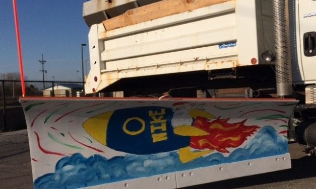Three elementary schools participate in snowplow painting program