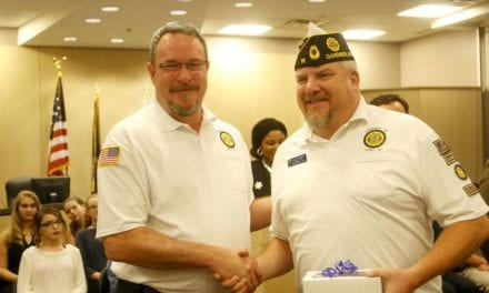 Gardner council honors veterans