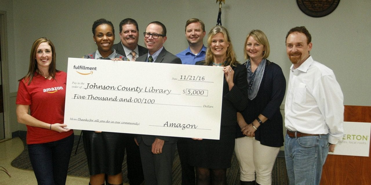 Bank of Knowledge receives Amazon donation