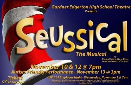 """""""Seussical the Musical!"""" performances  set for mid-November includes"""