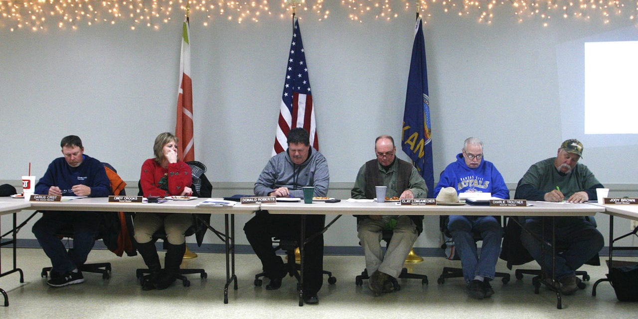 Edgerton city council considers fees and rates for city services