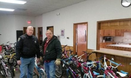 Bicycle donations help needy children