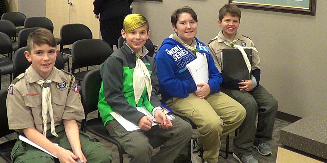 Local Scout proposes Kade Meyer memorial
