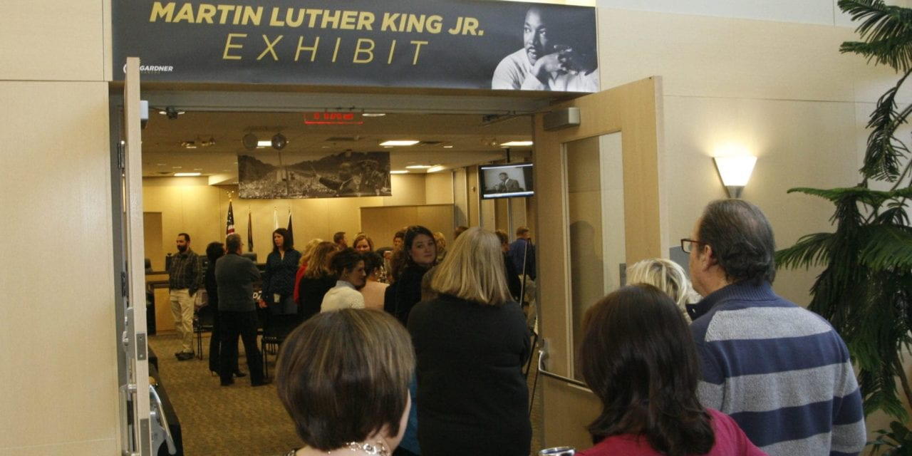City hall hosts Dr. Martin Luther King Jr. exhibit