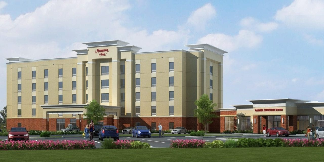 New Hampton Inn Hotel and Conference Center proposed