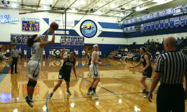 Lady Blazers beat BVN in OT, 55-53