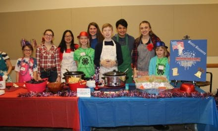 Local 4-H groups celebrate food at the Johnson County Food Fare