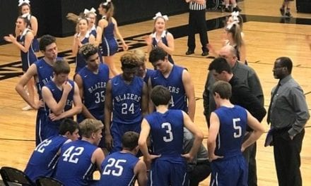 Blazers celebrate senior night with victories over Blue Valley Southwest