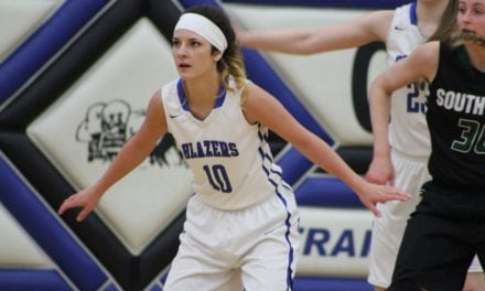 Late in the game free throws lift Lady Blazers past Blue Valley