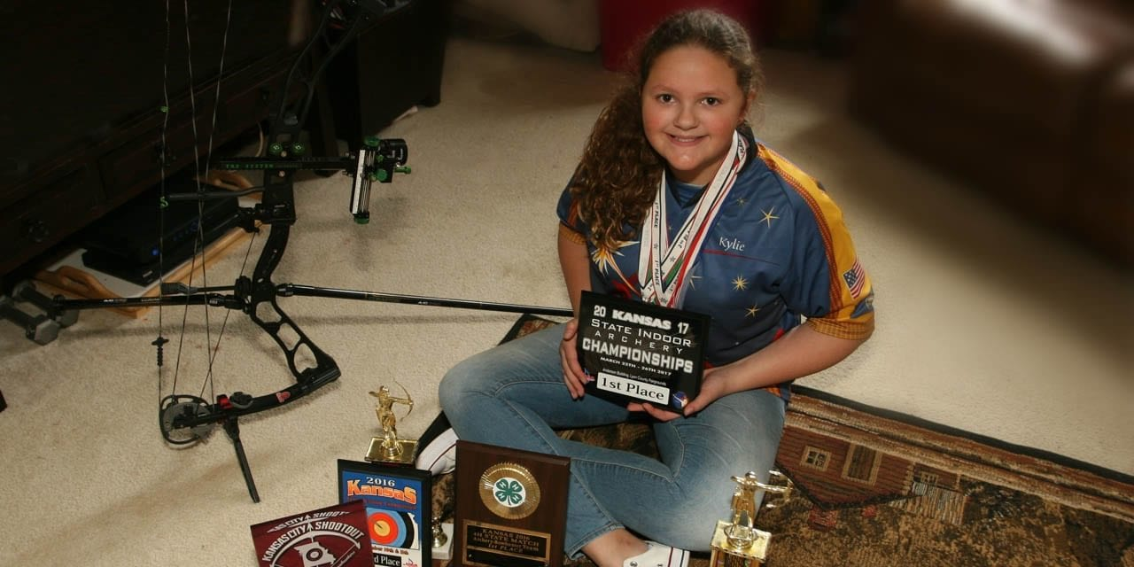 Local youth wins 2017 state archery championship, female division