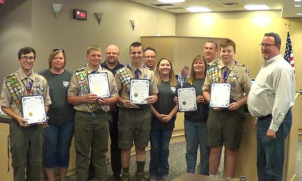 Eagle Scouts recognized