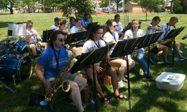 GEHS Jazz Band performs at Festival on the Trails