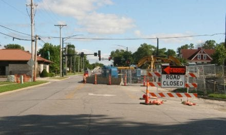 Detour, closures as CVS construction continues