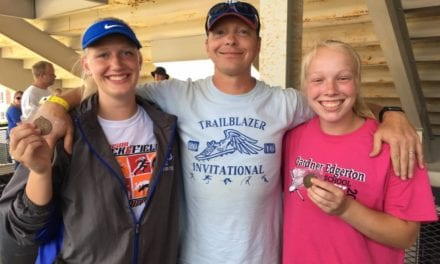 Season comes to a close for the Lady Blazer track and field team