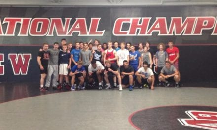 Blazers, coaches attend wrestling camps