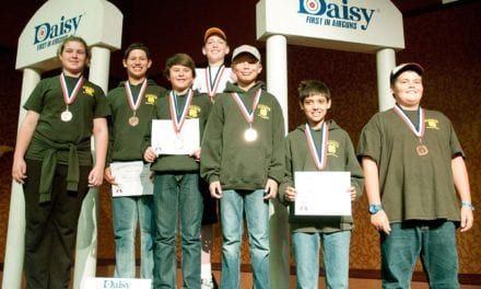 4-H BB gun team takes Bronze Medal at Daisy National Championship